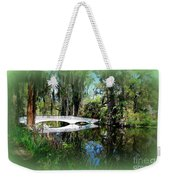 Another White Bridge In Magnolia Gardens Charleston Sc II Weekender Tote Bag