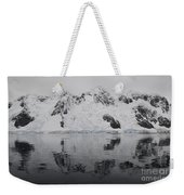 Antarctic Mountains Reflected Weekender Tote Bag