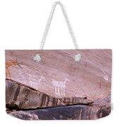 Antelope House Petroglyphs Weekender Tote Bag