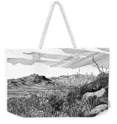 Anthony Gap New Mexico Texas Weekender Tote Bag