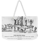Anti-democrat Cartoon Weekender Tote Bag