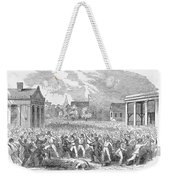 Anti-german Riot, 1851 Weekender Tote Bag