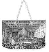 Anti-slavery Meeting, 1842 Weekender Tote Bag by Granger