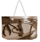 Antiquated Plantation Tools - 2 Weekender Tote Bag
