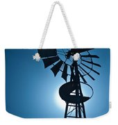 Antique Aermotor Windmill Weekender Tote Bag