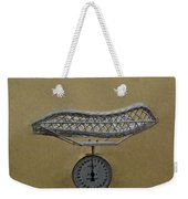 Antique Baby Scale Weekender Tote Bag