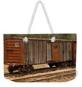 Antique Boxcar Weekender Tote Bag