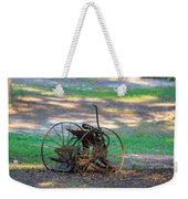 Antique Farm Equipment Weekender Tote Bag