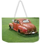 Antique Ford Car 5 Weekender Tote Bag