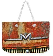 Antique Mercury Auto Logo Weekender Tote Bag
