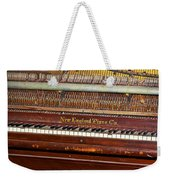 Antique Piano Weekender Tote Bag