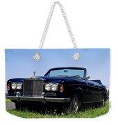 Antique Rolls Royce Weekender Tote Bag