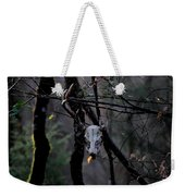 Antlers - Skull - In The Air Weekender Tote Bag