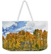 Apen Trees In Fall Weekender Tote Bag