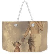 Aphrodite And Eros Weekender Tote Bag by Lourry Legarde