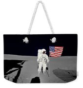 Apollo 14 Astronaut Stands Weekender Tote Bag