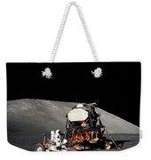 Apollo 17 Astronaut Makes A Short Weekender Tote Bag