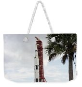 Apollo 4 And Its Mobile Launch Tower Weekender Tote Bag