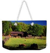 Appalachian Barn Yard Weekender Tote Bag