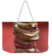 Apple Chips Weekender Tote Bag by Joana Kruse