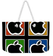 Apple Colors Weekender Tote Bag
