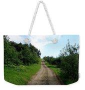 Apple Fields Weekender Tote Bag