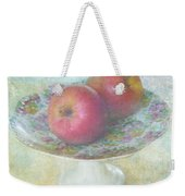 Apples Still Life Print Weekender Tote Bag