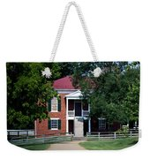 Appomattox County Court House 1 Weekender Tote Bag by Teresa Mucha