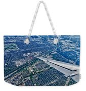 Approach Into Chicago Weekender Tote Bag