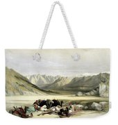 Approach To Mount Sinai Wady Barah Feby 17th 1839 Weekender Tote Bag