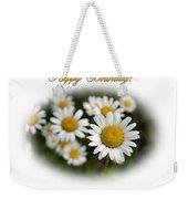 April Birthday Weekender Tote Bag