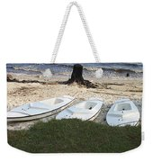 Aquafinn On River Bank Weekender Tote Bag