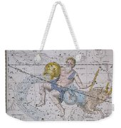Aquarius And Capricorn Weekender Tote Bag by A Jamieson