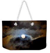 Aquarius Full Moon Weekender Tote Bag