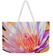 Aquatic Bloom Weekender Tote Bag