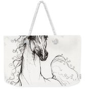 Arabian Horse Drawing 41 Weekender Tote Bag