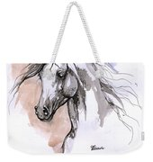 Arabian Horse Ink Drawing 1 Weekender Tote Bag