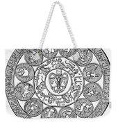 Arabic Zodiac Weekender Tote Bag