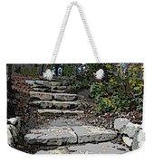 Arboretum Stairway Weekender Tote Bag by Tim Allen