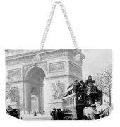 Arc De Triomphe - Paris France - C 1898 Weekender Tote Bag