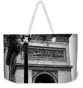 Arc De Triomphe - Black And White Weekender Tote Bag