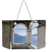 Arch And Lake Weekender Tote Bag