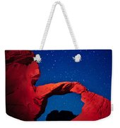 Arch In Red And Blue Weekender Tote Bag