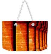 Archaic Columns Weekender Tote Bag by Karen Wiles