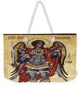 Archangel Michael Mosaic Weekender Tote Bag