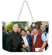 Archbishop Brunett 2007 Weekender Tote Bag