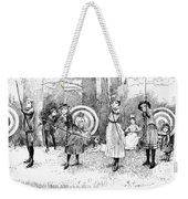 Archery, 1886 Weekender Tote Bag