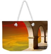 Arches At Sunset Weekender Tote Bag by Carlos Caetano