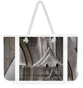 Architectural Detail Triptych Weekender Tote Bag