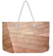 Architecture Lines Weekender Tote Bag by Carlos Caetano